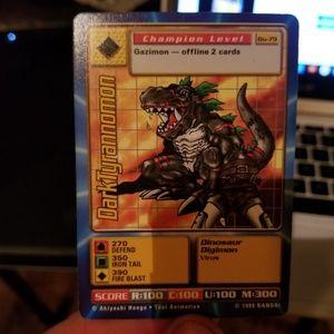 Darktyrannomon digimon card